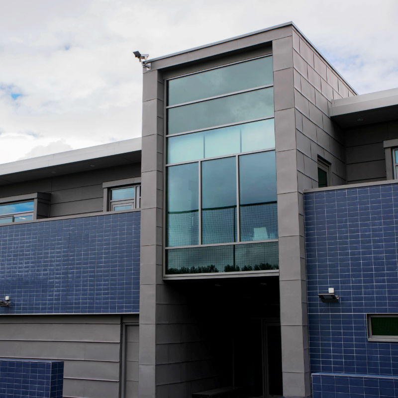Everton Finch Farm building front