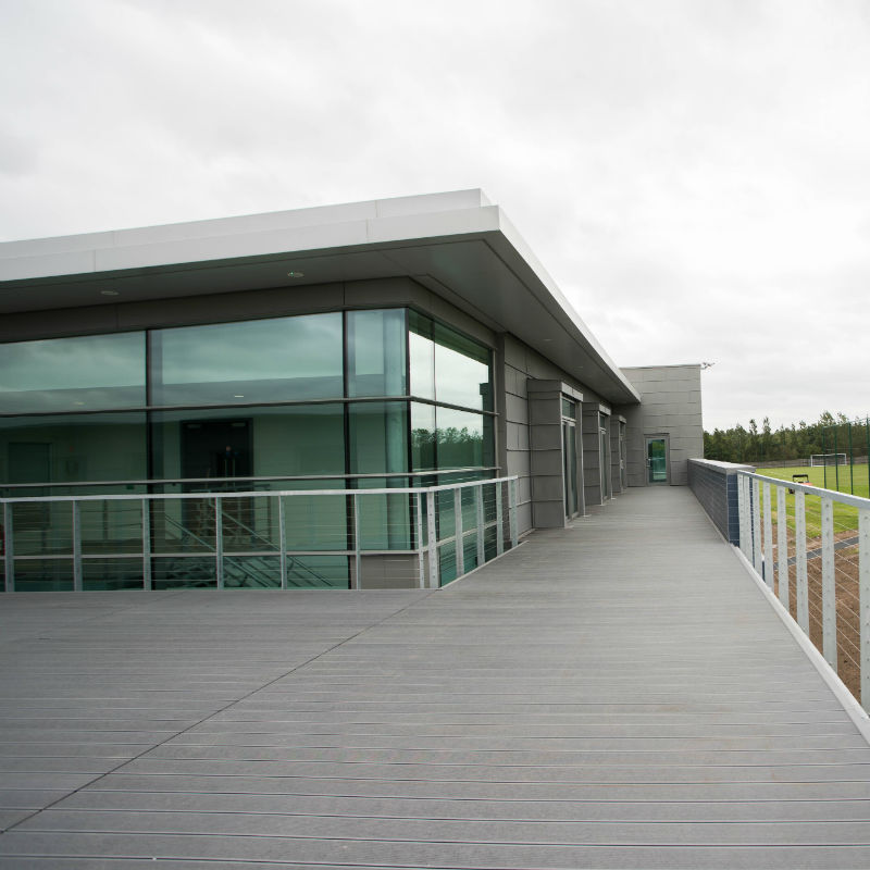 Everton Finch Farm Training Building