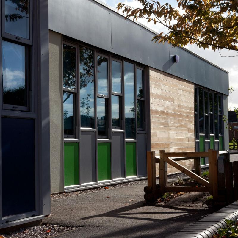 Everton Finch Farm building front