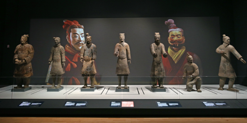 NML WORLD EXHIBITION - CHINA'S FIRST EMPEROR & TERRACOTTA WARRIORS