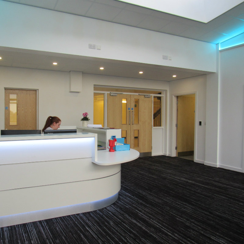 NEW MAIN ENTRANCE & OFFICE ACCOMMODATION