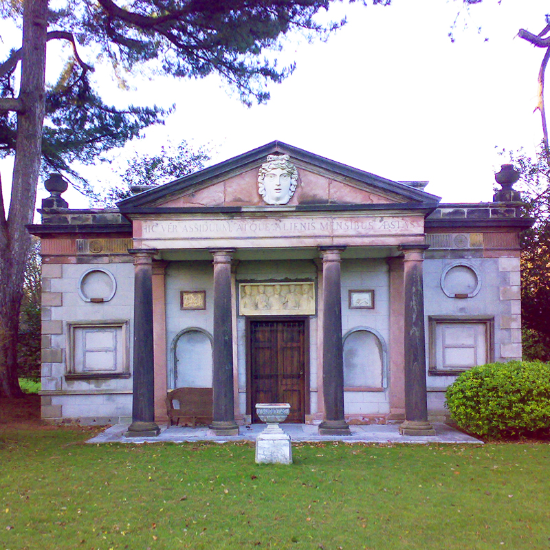 INCE BLUNDELL HALL PORTICO & TEMPLE