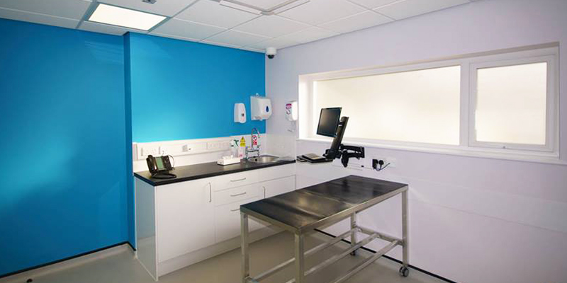 Everton Finch Farm changing room